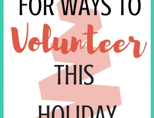 looking for way to volunteer this holiday season