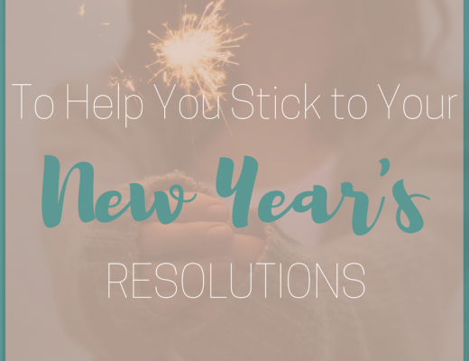 5 Tips to Help You Stick to Your New Year's Resolutions